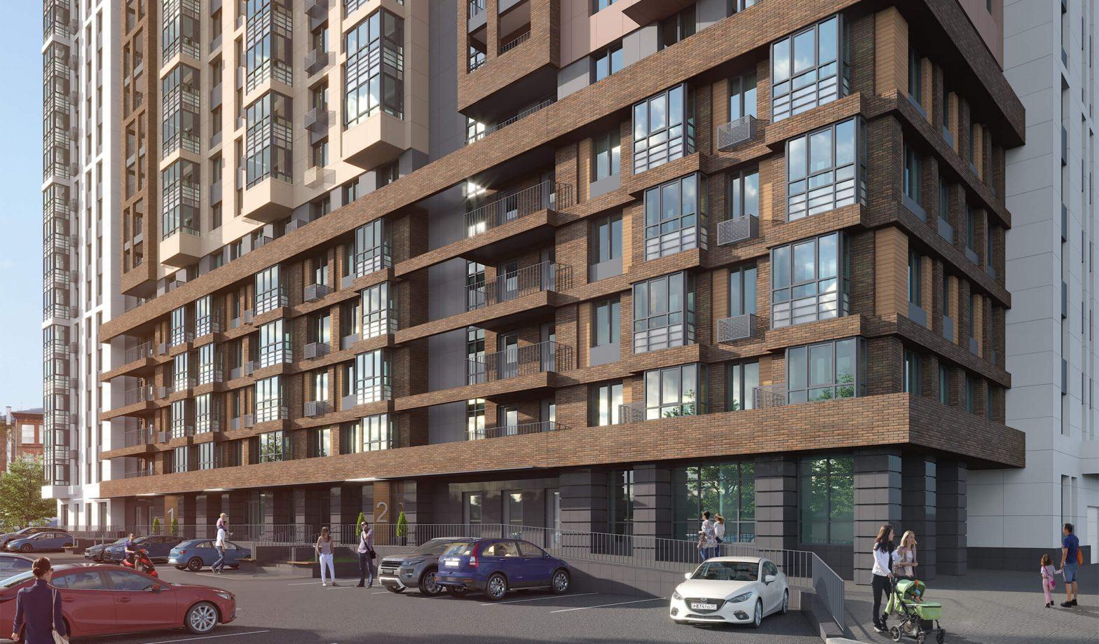 Проект жилого комплекса Nova City в портфолио архитектурного бюро ЛАД