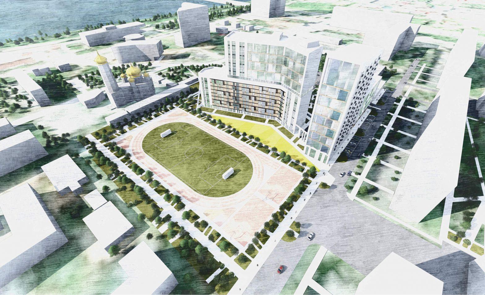 Предпроектная проработка территории под жилую застройку