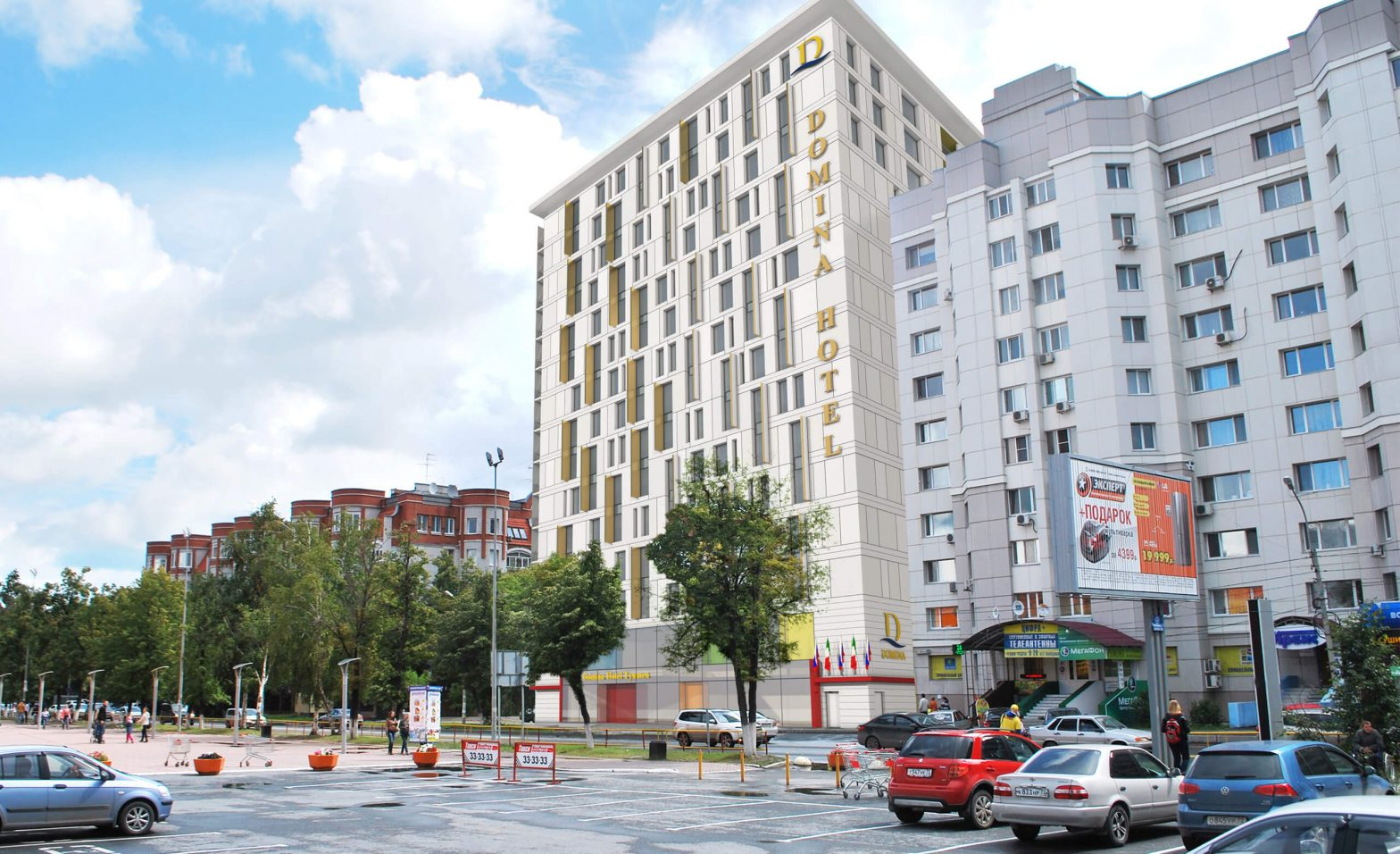 Архитектурный проект гостиничного комплекса